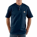 Carhartt K84 Short Sleeve Henley Shirt (Big & Talls Available)