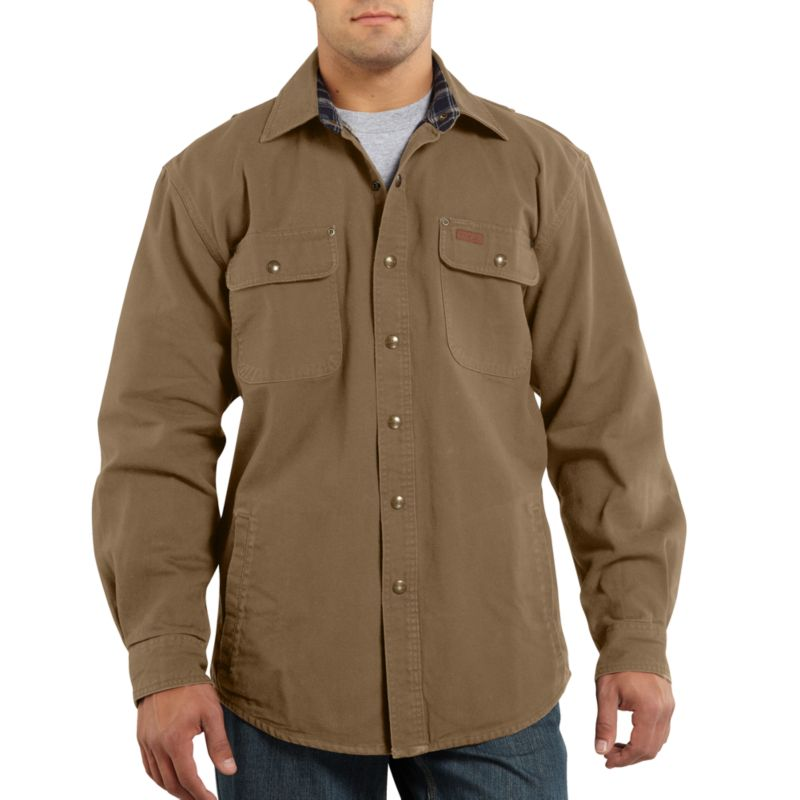 Carhartt Weathered Canvas Shirt Jac
