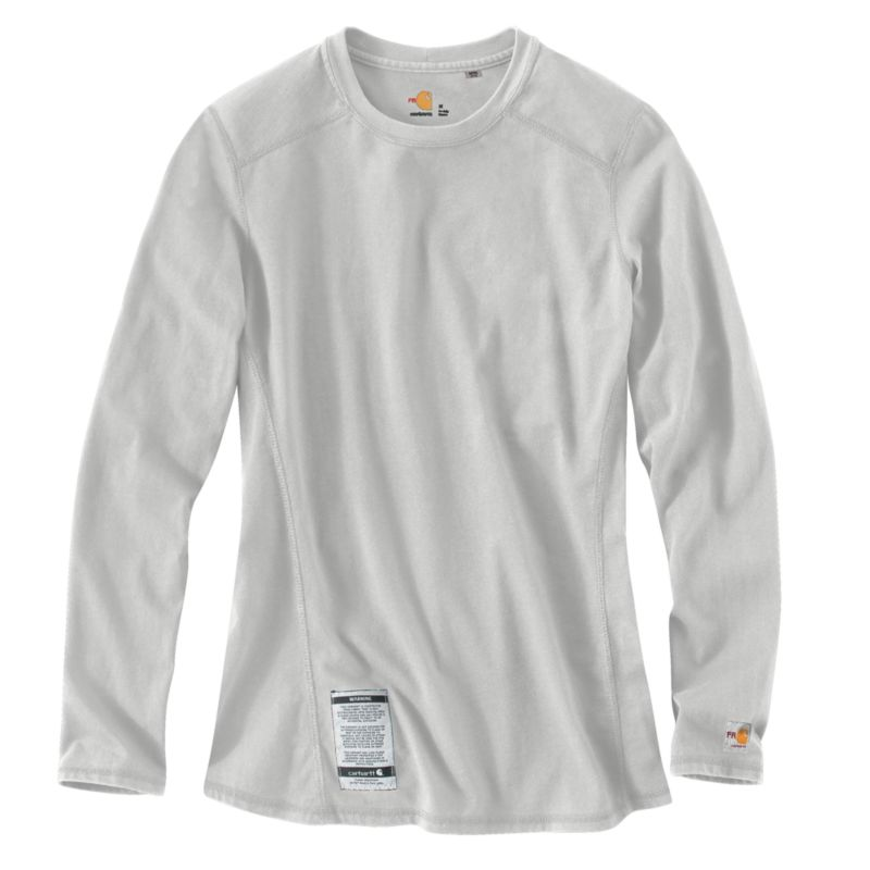 Carhartt Women 39 S Flame Resistant Force Cotton Long Sleeve
