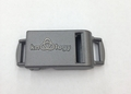 """Knottology 1/2"""" Metal Side Release Buckle Gray - """"Banshee"""" Whistle"""