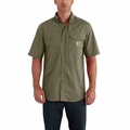 Carhartt 102417 Force Ridgefield Solid Short Sleeve Shirt