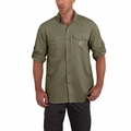 Carhartt 102418 Force Ridgefield Solid Long-Sleeve Shirt