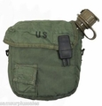 U.S. GI LC-2 OD 2 Quart Collapsible Canteen Cover