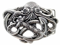 HA2333 Octopus Boat Anchor Belt Buckle