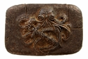 100587 Old Copper Octopus Boat Anchor Belt Buckle Made In Italy