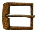"A0023 Vintage Rusty Color Finish Belt Buckle  fit's 1-1/2"" (38mm) wide Belt"