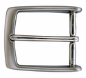 "AE-354 Solid Brass Nickle Plated Belt Buckle Fit's 1 3/8"" Belt"