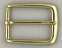 BS3208 OEB Solid Brass Heel Bar Belt Buckle-1-1/8""