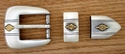 "BS8634 ASAG 25MM 1"" Belt Buckle Set"