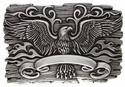 HA1442 Eagle Crest Belt Buckle