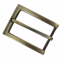 "FCB-15 Gold Belt Buckle Fit's 1-1/8""(30mm) Belt"