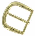 "FCB-5 Gold Belt Buckle fit's 1-1/4"" (32mm) wide"