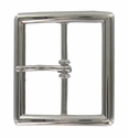 "FCB-7 Nickle Plated Belt Buckle 1-3/4"" (45mm) wide"