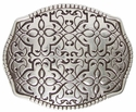 100170 Floral Design Belt Buckle