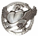 HA1353-1 Flying Heart Belt Buckle