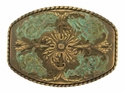 HA0016 Victorian Vintage Antique brass finish Belt Buckle
