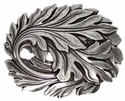 HA1750 Leaf in the Wind Belt Buckle