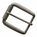 "P4767 Antique Silver Roller Belt Buckle fit's 1-1/2"" (38mm)"