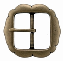 PC2277 Solid Brass Belt Buckle 1-3/4""
