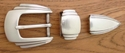 "S5448 LASRP 25MM 1"" Belt Buckle Set"
