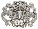100169 Sacred Heart Belt Buckle