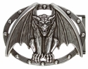 Vampire Bat Belt Buckle
