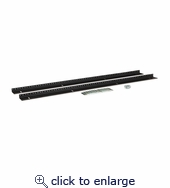 22U LINIER Server Cabinet Vertical Rail Kit - 10-32 Tapped