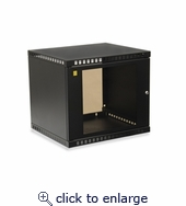 9U Shallow Depth Wall Cabinet