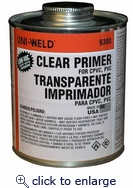 Clear Primer 1/4 PINT