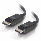 DISPLAYPORT CABLE WITH LATCHES M/M