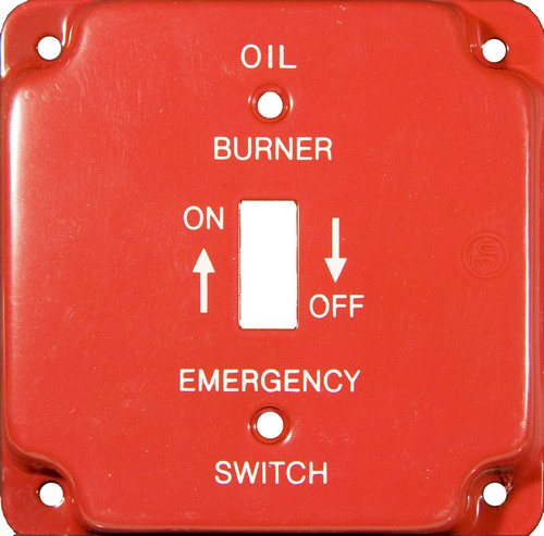 Emergency Metal Switch Plates 4 Quot Raised Oil