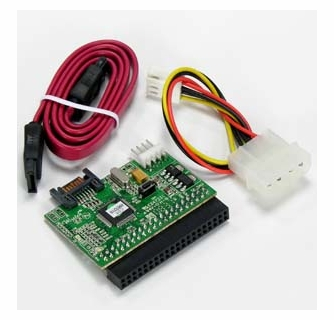 IDE Host to SATA HDD Adapter Motherboard