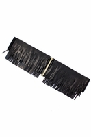 Black Fringe Belt