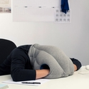 click to see more pictures of Head Case - The Desktop Nap Pillow