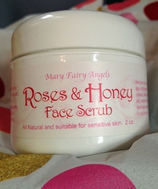 Rose & Honey Facial Scrub
