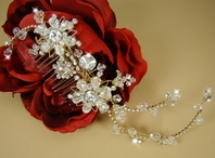 Addison - HEIRLOOM DESIGN- Swarovski Bridal Comb