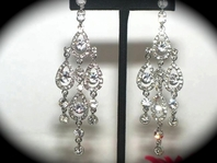 Adelle - STUNNING Swarovski crystal chandelier drop earrings -