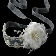 Adore - Beautiful Romantic vintage ribbon headband - SALE