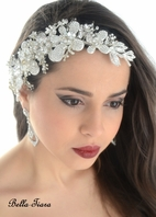 Alabella - Royal Collection - ASTONISHING Swarovski crystal wedding headpiece - SALE