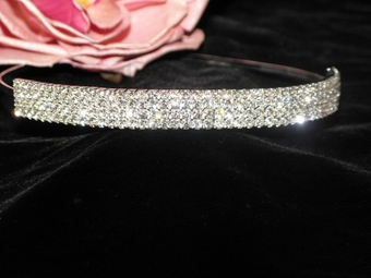 Alana - Dazzling rhinestone bridal headband - SPECIAL SALE!! ONE LEFT