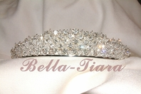 Alessandra - Magnificent Queen Sparkling Crystal tiara - SALE