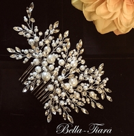 Alina - Luxurious Collection - STUNNING Swarovski crystal wedding hair comb - SALE