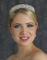 Alluring Swarovski wedding headband - Edward Berger 2354 - Sale