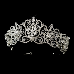Amabelle - Royal dreams swarovski crystal wedding tiara - SPECIAL