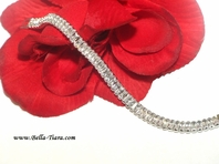 Amada - Beautiful High end CZ tennis wedding bracelet  - SPECIAL
