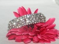 Amanda -NEW beautiful stretch rhinestone Bridal Bracelet - BACK IN STOCK SALE!!