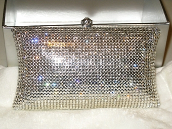 AMAZING Swarovski Crystal Clutch Purse -- SALE!!