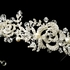 Antique Silver Freshwater Pearl & Crystal Bead Swirl Headband Headpiece - SALE