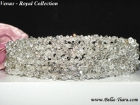 Astonishing Swarovski crystal wedding tiara headband - SALE