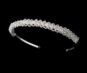 Audrey - Elegant Crystal and rhinetone bridal headband - SPECIAL!!